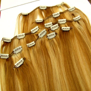 How to put in clip-in hair extensions 1