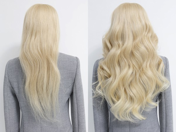 Hair extensions best human hair extensions clip in hair this will show you roughly where the hair extensions will fall on you and also give you an idea of how much longer the hair extensions will be compared to pmusecretfo Image collections